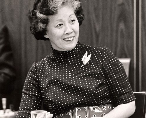 Dr. Irene Uchida, Science Council Member, 1971