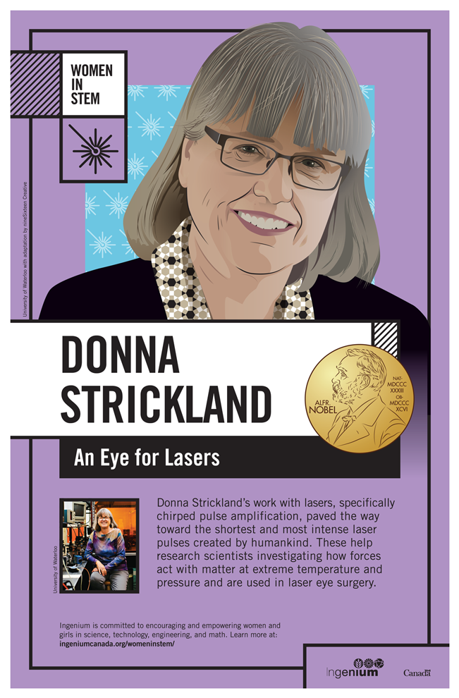 Image Poster English Donna Strickland