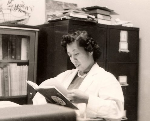 Dr. Irene Uchida at the Hospital of Sick Children