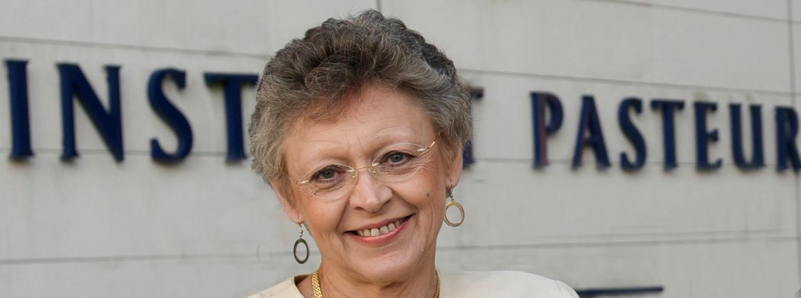 Photo Françoise Barré-Sinoussi