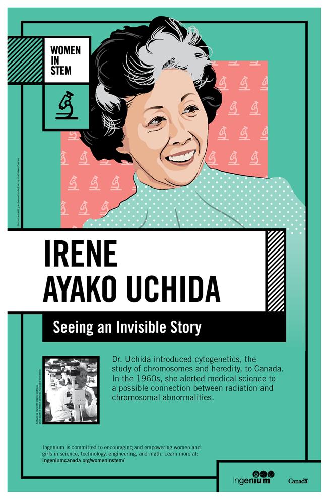 Image Poster English Irene Ayako Uchida