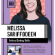 Image Poster English Melissa Sariffodeen