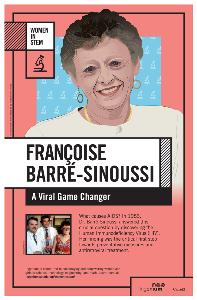 Image Poster English Françoise Barré-Sinoussi