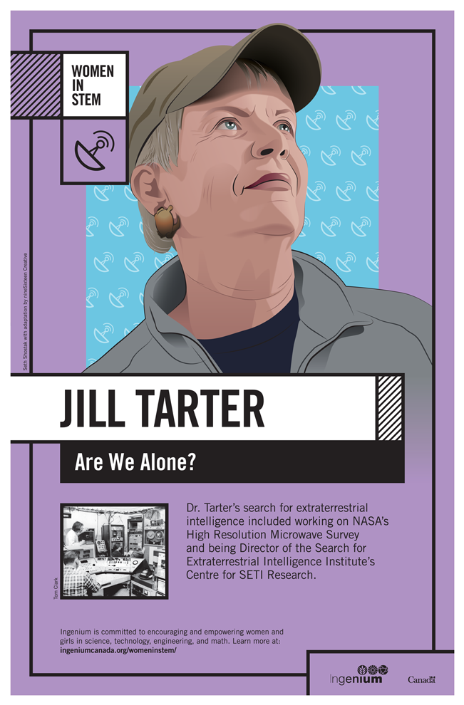Image Poster English Jill Tarter