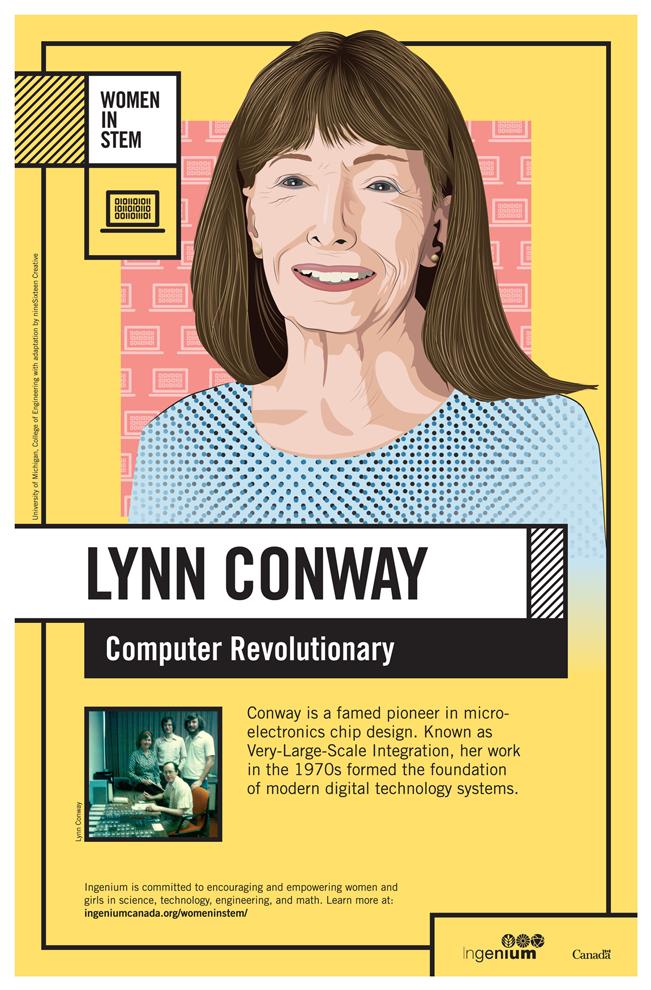 Image Poster English Lynn Conway